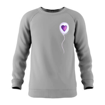 Bravehearts - Hand-Drawn Special Edition White Balloon Jumper Thumbnail